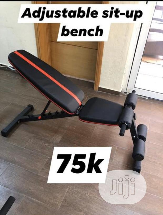 Commercial Adjustable Sit Up Bench