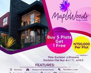 Invest in Maplewoods Estate Ibeju Lekki and Make Good Returns | Land & Plots For Sale for sale in Lagos State, Lagos Mainland