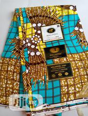 Tea Brown Broom Design High Grade Ankara DC0013 | Clothing for sale in Lagos State, Agege