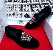 Versace Designer Suede Black Shoe | Shoes for sale in Lagos State, Apapa