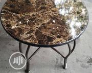 Side Table With Marble Top | Furniture for sale in Lagos State, Ojo