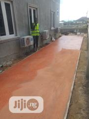 Concrete Stamped Floor | Building & Trades Services for sale in Lagos State, Lagos Mainland