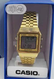 Casio Gold Wrist Watch | Watches for sale in Lagos State, Surulere