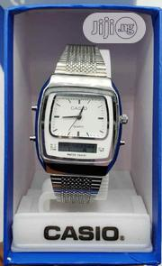 Casio Silver Wrist Watch | Watches for sale in Lagos State, Surulere