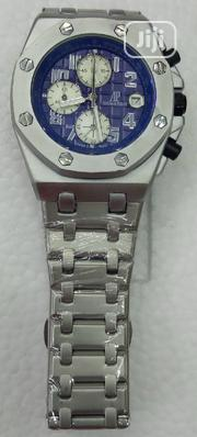 Audemars Piguet Silver Wrist Watch | Watches for sale in Lagos State, Surulere