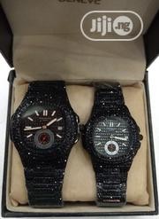 Patek Philippe Couple Black Wrist Watch | Watches for sale in Lagos State, Surulere