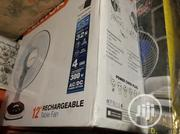 Lontor 12inchs Rechargeable Tabletop Fan | Home Appliances for sale in Lagos State, Ikeja