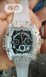 Hublot Rubber Wrist Watch | Watches for sale in Lagos State, Surulere