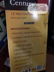 Century 12inchs Tabletop Rechargeable Fan   Home Appliances for sale in Lagos State, Ikeja