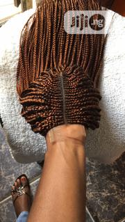 Bronze Color Braided Wig | Hair Beauty for sale in Lagos State, Ikeja