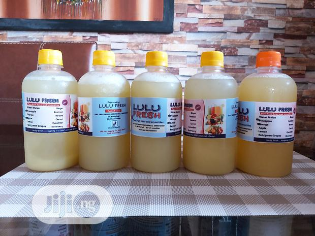 Archive: Supply Of Freshly Squeezed Fruit Juice