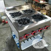 Industrial Gas Cooker 4burner Without Oven | Restaurant & Catering Equipment for sale in Lagos State, Ojo