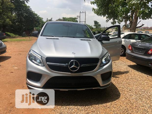 Archive: Mercedes-Benz GLE-Class 2017 Silver