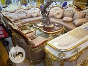 Luxury Royal Sofa With Center Table And TV Stand | Furniture for sale in Ogun State, Ijebu Ode