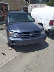 Toyota Highlander 4x4 2005 Gray   Cars for sale in Lagos State, Ajah