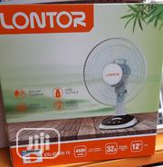 "12"" Lontor Rechargeable Table Fan 