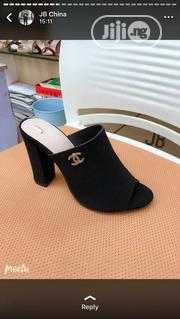 Chennel Block Heel Slipper   Shoes for sale in Lagos State, Lekki Phase 1