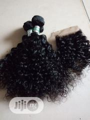 "14"" Human Hair Curls Nd Closure Available 