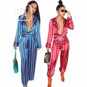 Striped Jumpsuit | Clothing for sale in Rivers State, Port-Harcourt