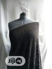 Black Cotton Poly Fabric DC0091 | Clothing for sale in Lagos State, Agege