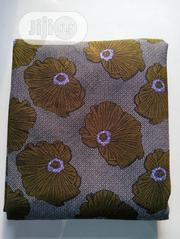 Ankara Pattern Flowered Poly Fabric.   Clothing for sale in Lagos State, Agege