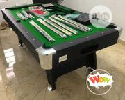 Standard Snooker Board Table With Complete Accesories and Extra Sticks | Sports Equipment for sale in Lagos State, Ikoyi
