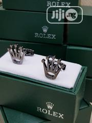 Rolex Cufflinks Buttons Silver | Clothing Accessories for sale in Lagos State, Surulere
