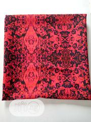 Wine And Black Polish Cotton Fabric DC0101 | Clothing for sale in Lagos State, Agege