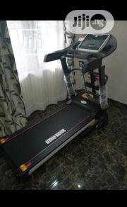 2.5HP German Machine Electric Treadmill With Massager, Auto-inclined | Sports Equipment for sale in Lagos State, Ikoyi