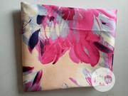 Pink Flowered Damask Fabric DC0106 | Clothing for sale in Lagos State, Agege