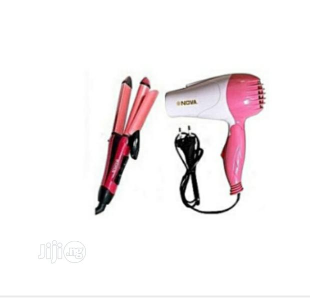 Hand Dryer And Hair Straightener And Curler
