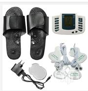 Digital Pulse Massage Therapy Machine With Slippers For Pain Relieve | Medical Equipment for sale in Lagos State, Surulere