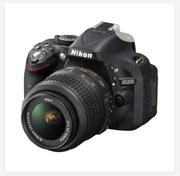Nikon D5200 Dslr Camera With 18-55mm Lens | Photo & Video Cameras for sale in Lagos State, Lagos Island