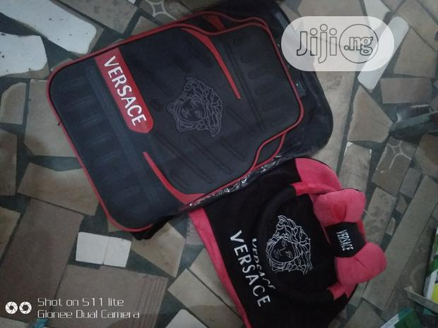 Versace Footmat And Seat Cover