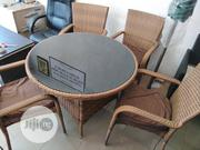 Rattan Royal Dinning Table And 4 Chairs | Furniture for sale in Lagos State, Ojo