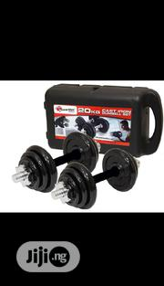 20KG Detachable Dumbbell With Case ( Black ) | Sports Equipment for sale in Lagos State, Ikoyi