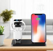 3 in 1 Wireless Charger for iPhone, Airpods and Apple Watch | Headphones for sale in Lagos State, Ikotun/Igando