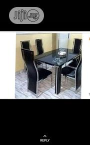 Glass Dinning Table With 6 Chairs | Furniture for sale in Lagos State, Ojo