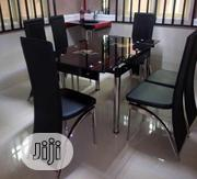 Equisite Glass Dining Table With Six-seater | Furniture for sale in Abuja (FCT) State, Central Business District