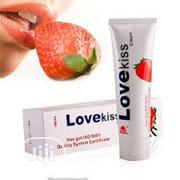 Love Kiss Strawberry Cream Anal Sexual Lubricant 100ml | Sexual Wellness for sale in Lagos State, Alimosho
