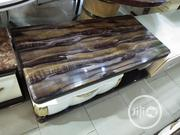 Standard Quality Centre Table and Tv Stand With Marble Top | Furniture for sale in Lagos State, Ojo