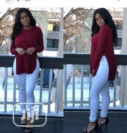 Long Sleeve Side Slit Top | Clothing for sale in Lagos State, Lagos Island