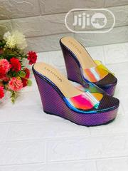 Iridescent Wedge Heels | Shoes for sale in Lagos State, Lagos Island