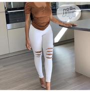 Kneel Ripped Trouser | Clothing for sale in Lagos State, Lagos Island