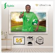 """Syinix 55"""" Inch Android 4K UHD Smart LED TV - T710U Series 