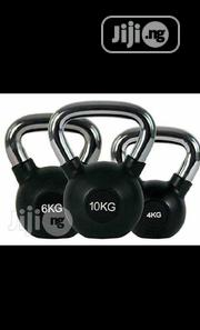 Kettlebell Dumbbell With Chrome Anti-Rust Handle | Sports Equipment for sale in Lagos State, Surulere