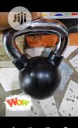 16KG Kettlebell Dumbbell With Chrome Anti-Rust Handle | Sports Equipment for sale in Surulere, Lagos State, Nigeria