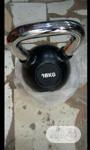 16KG Kettlebell Dumbbell With Chrome Anti-Rust Handle | Sports Equipment for sale in Lagos State, Surulere