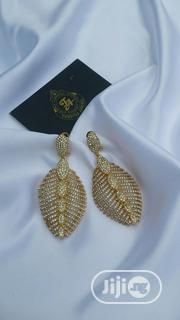 Gold Stone Drop Earring | Jewelry for sale in Lagos State, Ajah