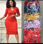 New Quality Leadies Orange Gown | Clothing for sale in Lagos State, Ikeja